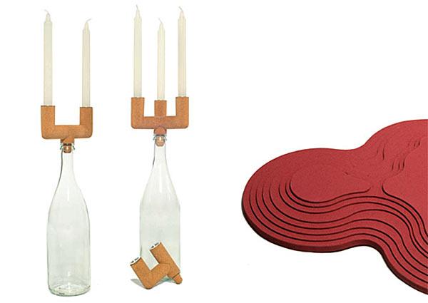 Экологичная отделка мебели пробкой