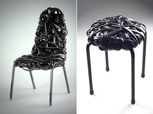 Мебель из индустриальных отходов — Scrap Lab