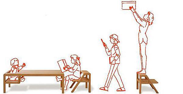 Мебель на вырост — Oji Masanori