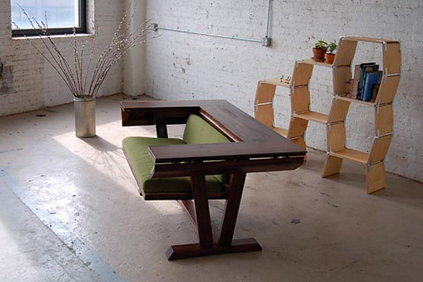 Лучшее в шоу: Трансформирующаяся скамейка для стола — Ecosystems