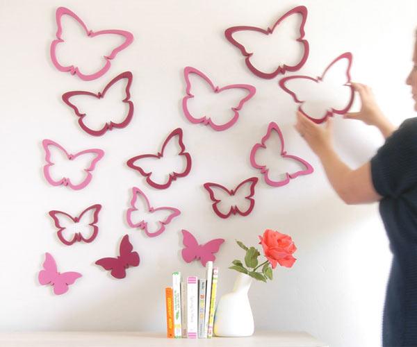 Создайте романтичную атмосферу на стенах