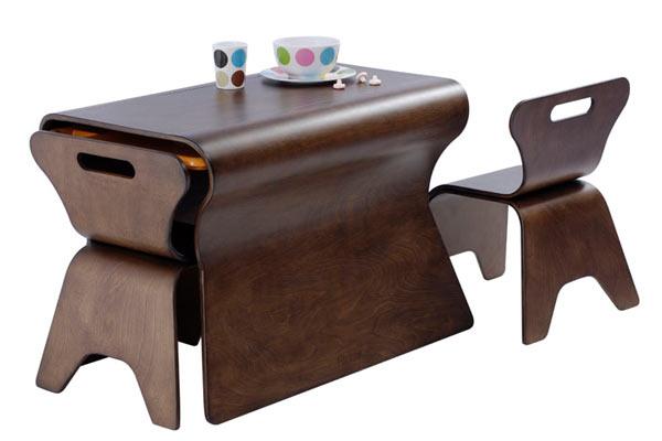 Набор из столика и двух стульев — bloom — Otto