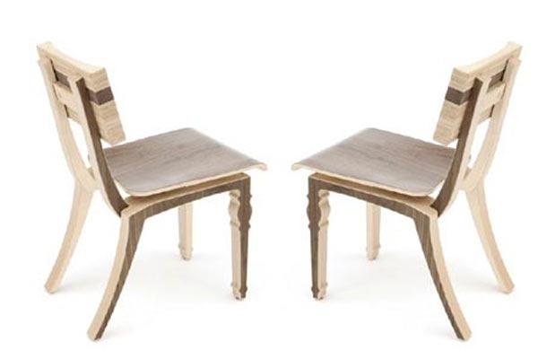 Стулья для кафе Context Furniture — William & Mary Harbor Cafe Chair