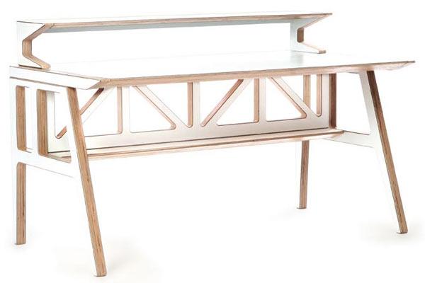 Стол Context Furniture — Truss Library Desk