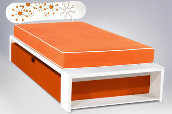 Кровать ducduc — alex Trundle Full Bed w/ Snowboard