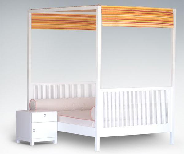 Кровать ducduc — cabana Twin Bed — F3 Fabric