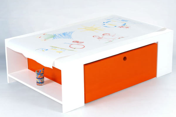 Игровой столик ducduc — parker Playtable — Paper Roll