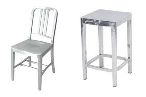 Табурет Emeco — Stools и стул Emeco — Navy Chair