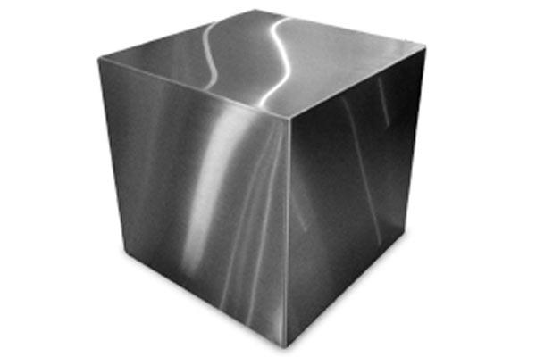 Стол тумба — Gus* Modern — Stainless Cube