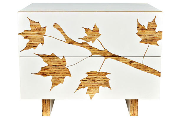 Тумба Iannone Design — Trees Graphic Nightstand