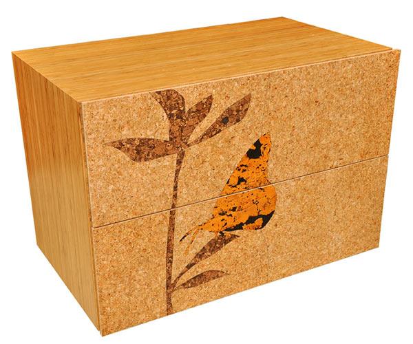 Тумба Iannone Design — Cork Filing Cabinet — Pedestal