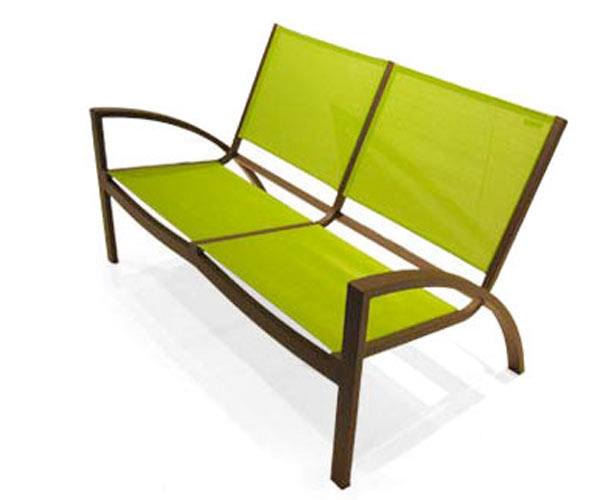 Садовая скамейка John Kelly Furniture — Rho Love Seat