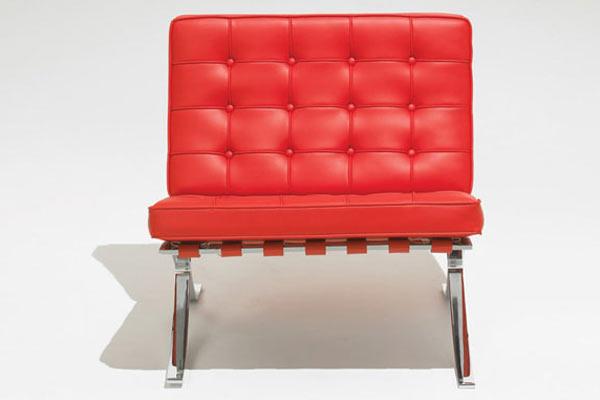Стул knoll kids® — Child's Barcelona Chair — U Leather