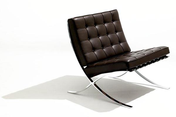 Стул knoll kids® — Child's Barcelona Chair — V Leather