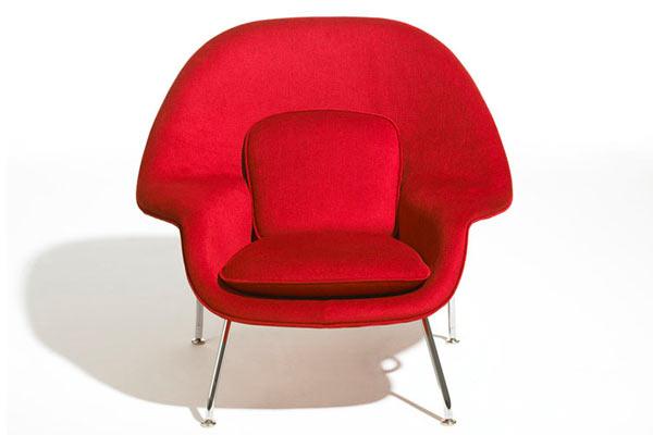 Стул knoll kids® — Child's Womb Chair — Grade B Fabric