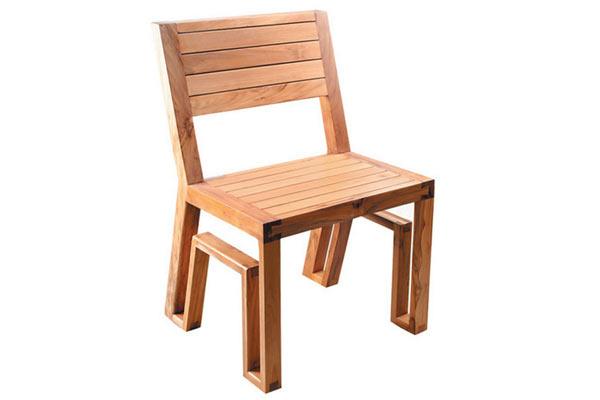 Стул Maku Furnishings — Armless Dining Chair