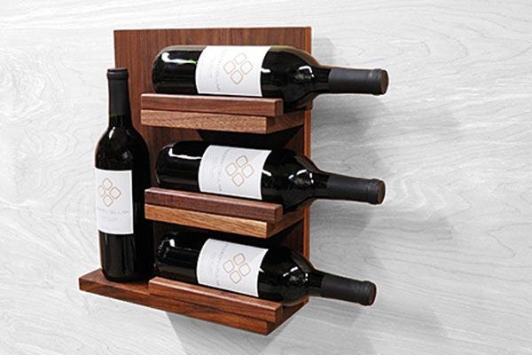 Винная полка Modern Cellar — FLOAT Wall Shelf Mini
