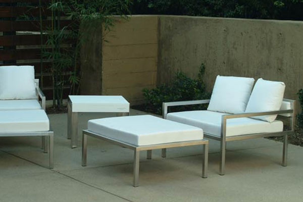Банкетка Modern Outdoor — Talt Low Ottoman