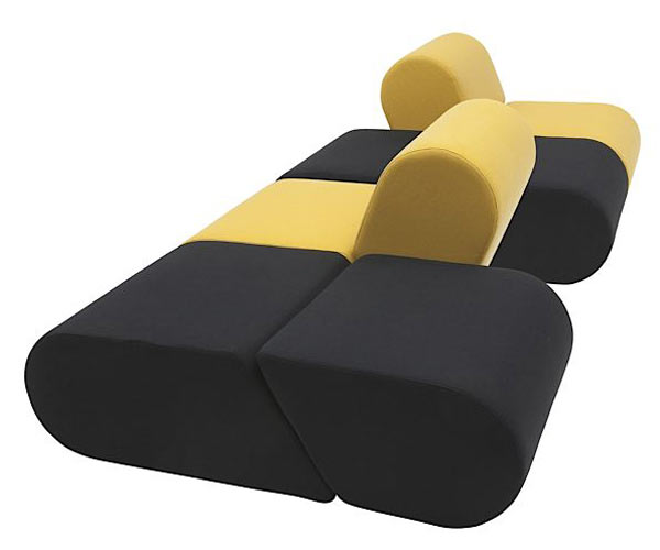 Модульный диван HEART — Super-simple modular sofa
