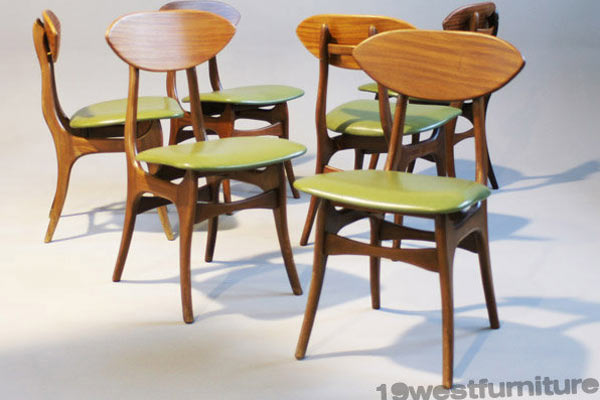 Стулья Six dining chairs