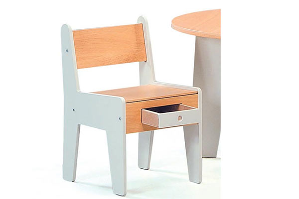 Два стульчика OFFI — Mini-Drawer Chair Set of 2