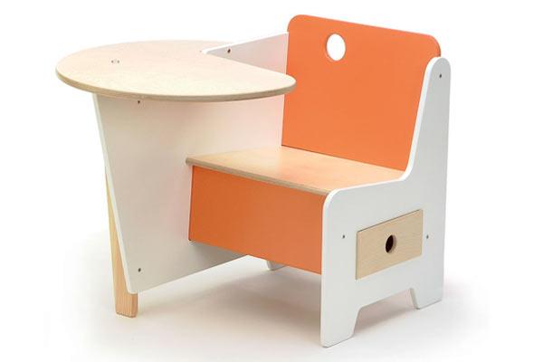Мини-парта OFFI — Mini-Drawer Doodle Desk