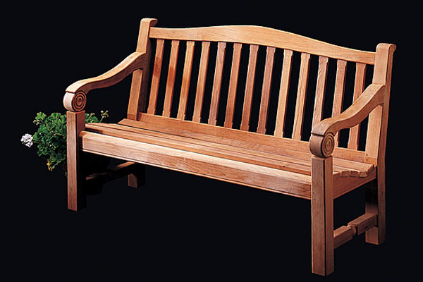 Садовая скамья Shackleton Thomas — classic chicago garden bench