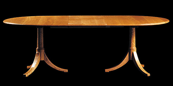 Стол Shackleton Thomas — classic josh`s extending pedestal table