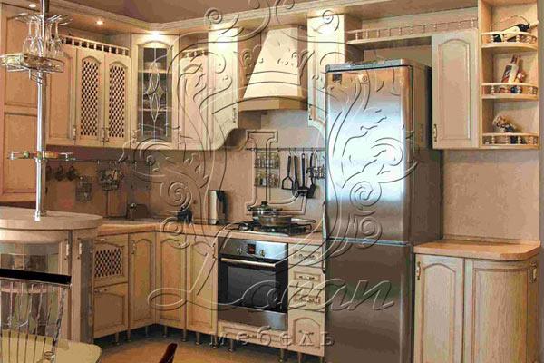 Кухня Дуб 7 тип 01