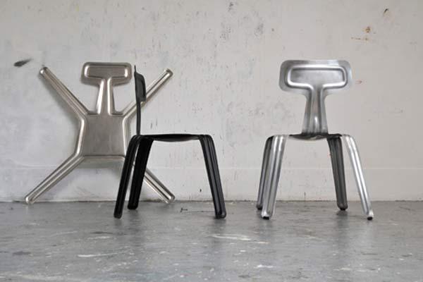 Экономичные стулья от лондонского дизайнера Харри Тейлера (Harry Thaler).