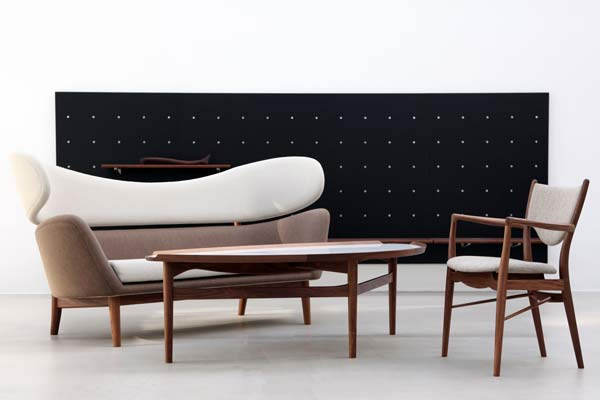 Преемственность свободного дизайна мебели — Baker Sofa.