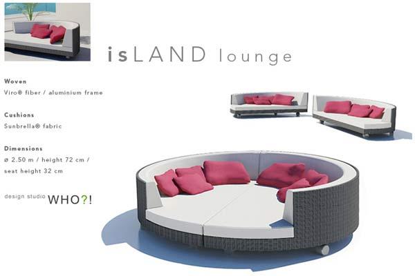 Диван IsLAND Lounge.