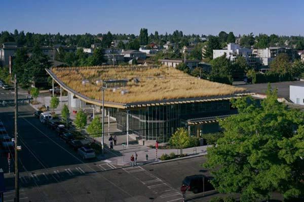 Особенности архитектуры крыш Сиэтла.