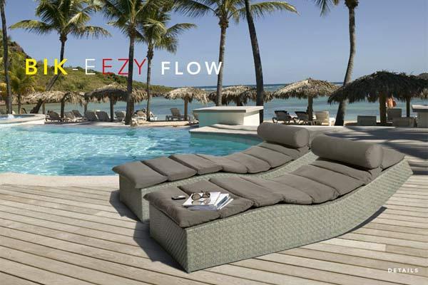 Пляжные шезлонги BIK-EEZY FLOW.