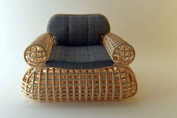Кресло Doeloe Lounge Chair.
