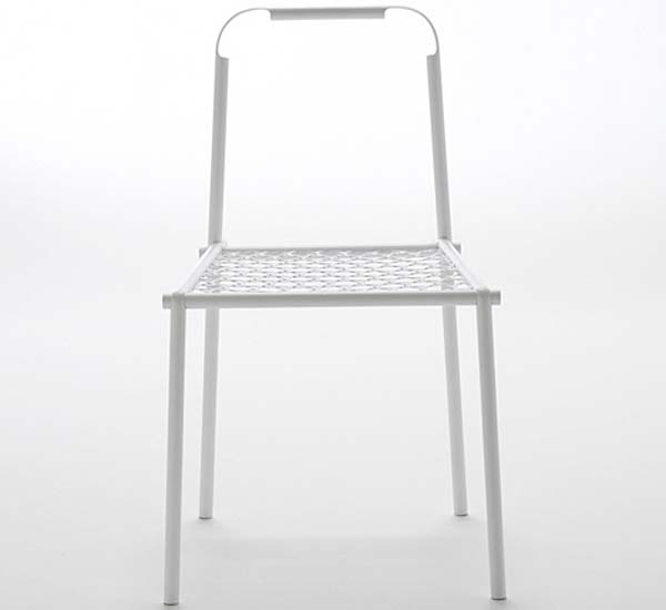 Металлический Bamboo-steel стул.