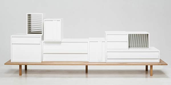 Сервант из контейнеров Container Sideboard.