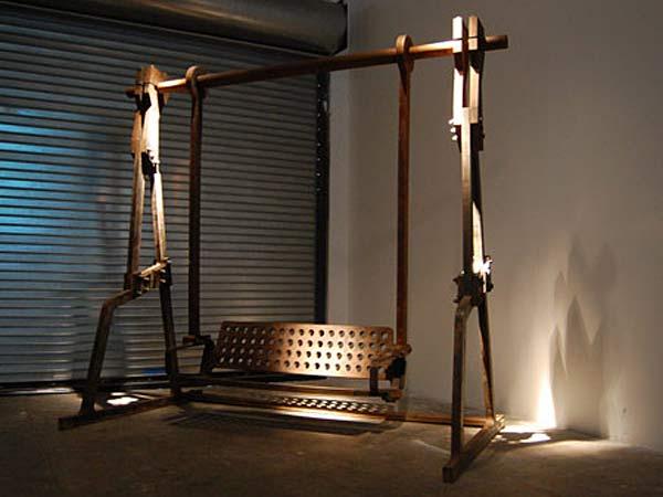 Стальная вечная мебель Flame.
