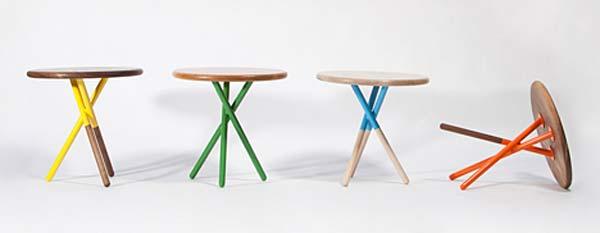 Столы Soft side tables.