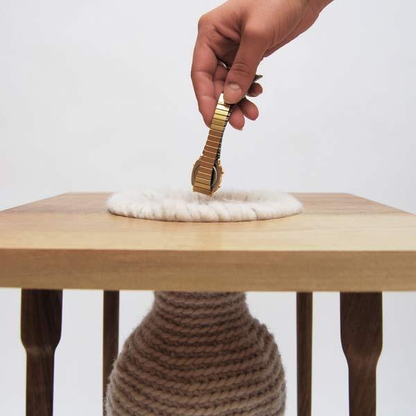 Плетеная ваза Safety Vase.