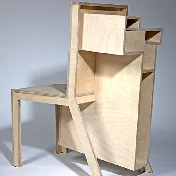 Супрематический стул Burden Chair.