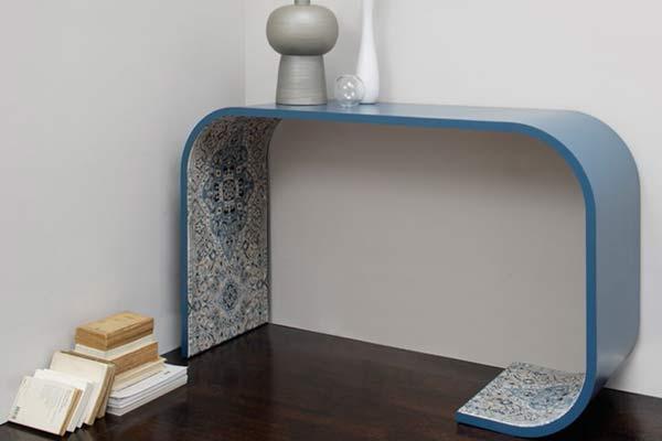 Персидские ковры в мебели Carpetry.