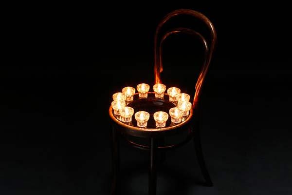 Стулья с подсветкой Corner Chair.