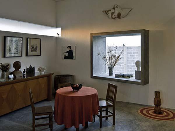 Кубический дом для архитекторов M + N Arquitectos.