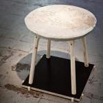 Мебель из строительных смесей Unpølished.