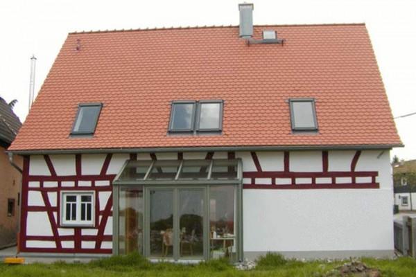 Дом после реконструкции и капитального ремонта.