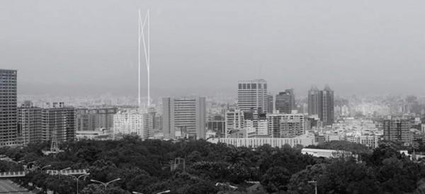 Башня Sky Lantern Tower (Тайчжун, Тайвань).