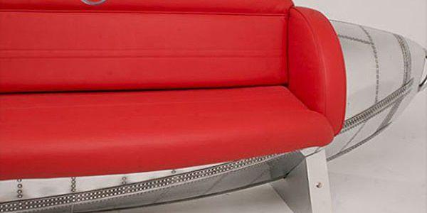 Мебель из утилизированных частей самолетов от студии MotorArt