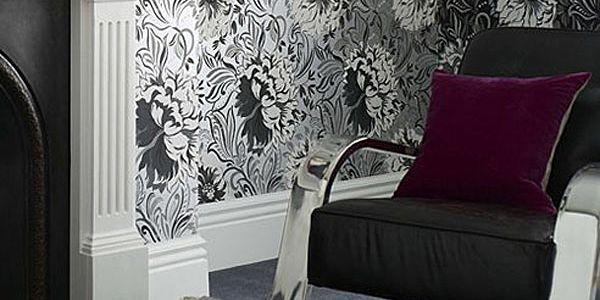 Цветы в решении дизайна гостиной (Часть 4)