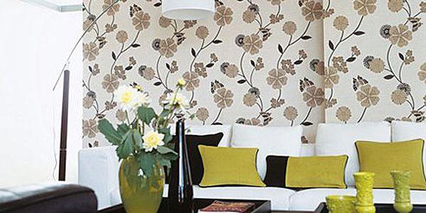 Цветы в решении дизайна гостиной (Часть 6)